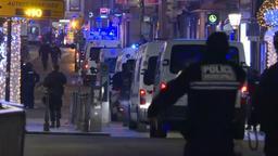 Polizeieinsatz in Straßburg | Bild:BR