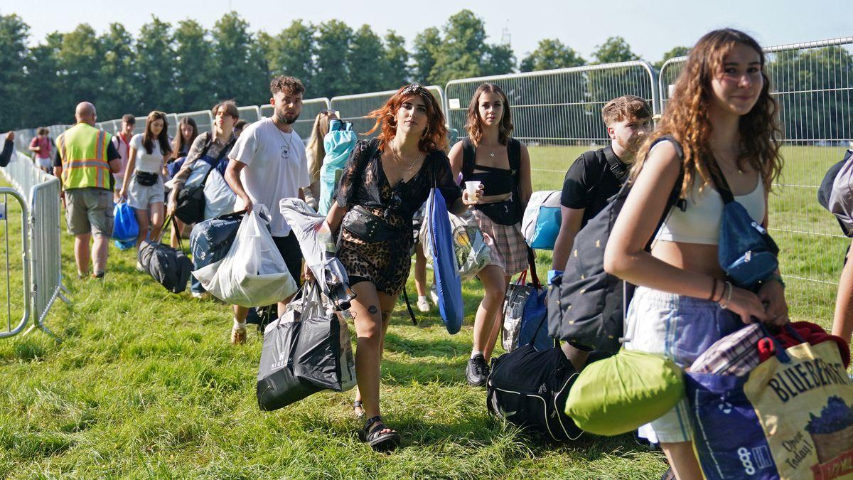 Festival in Southwold Großbritannien am 22.7.21