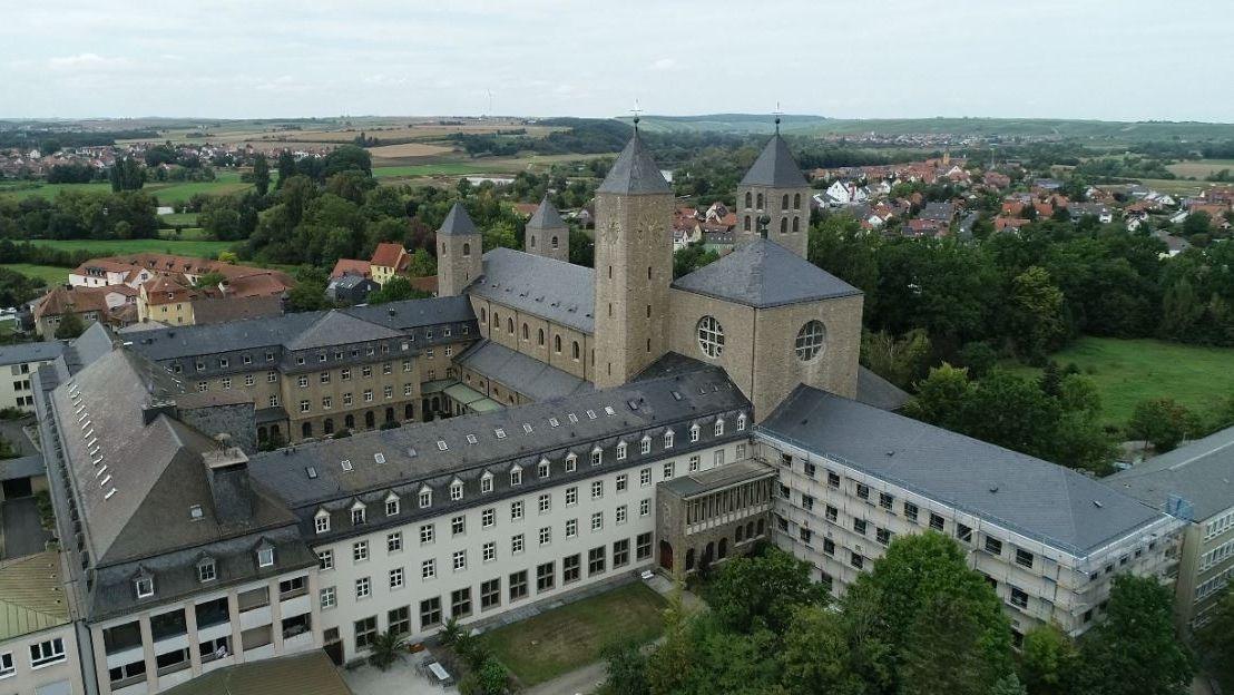 Das Kloster Münsterschwarzach in Unterfranken ist seit 2008 klimaneutral.