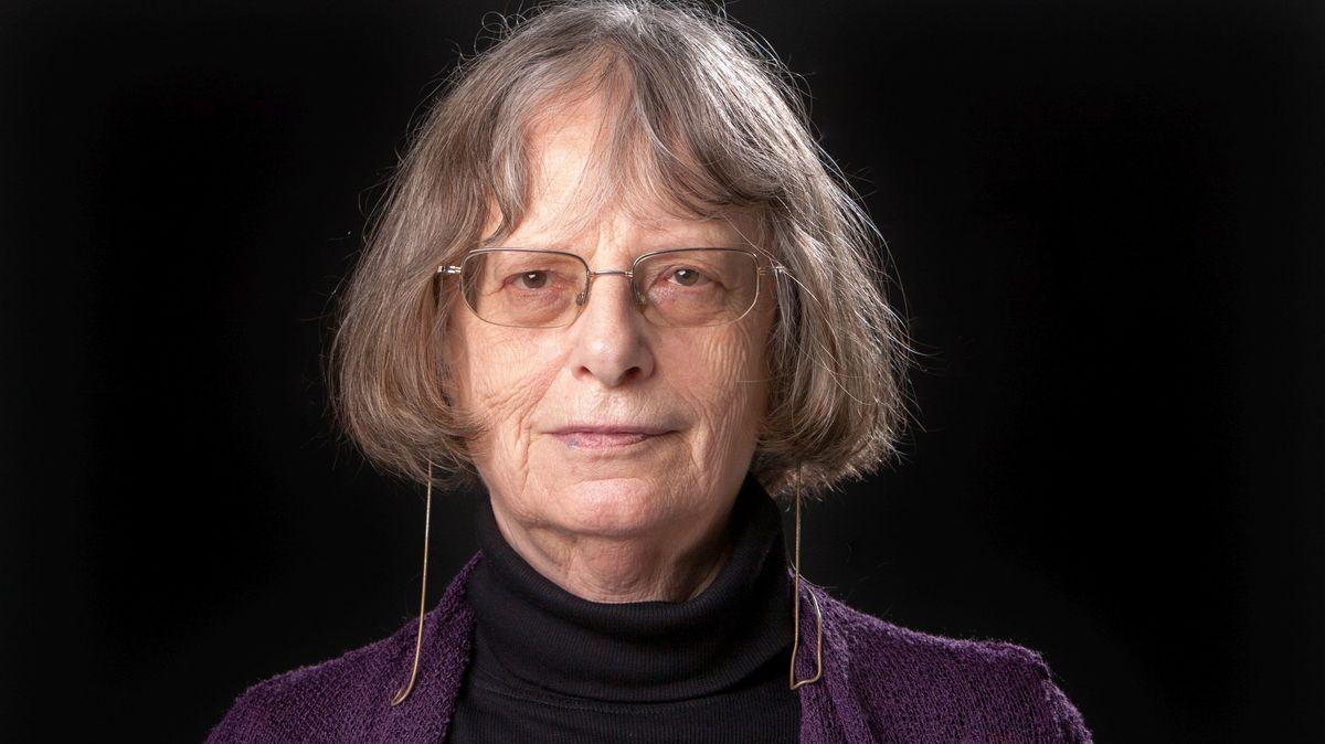 Die Schriftstellerin Elke Erb