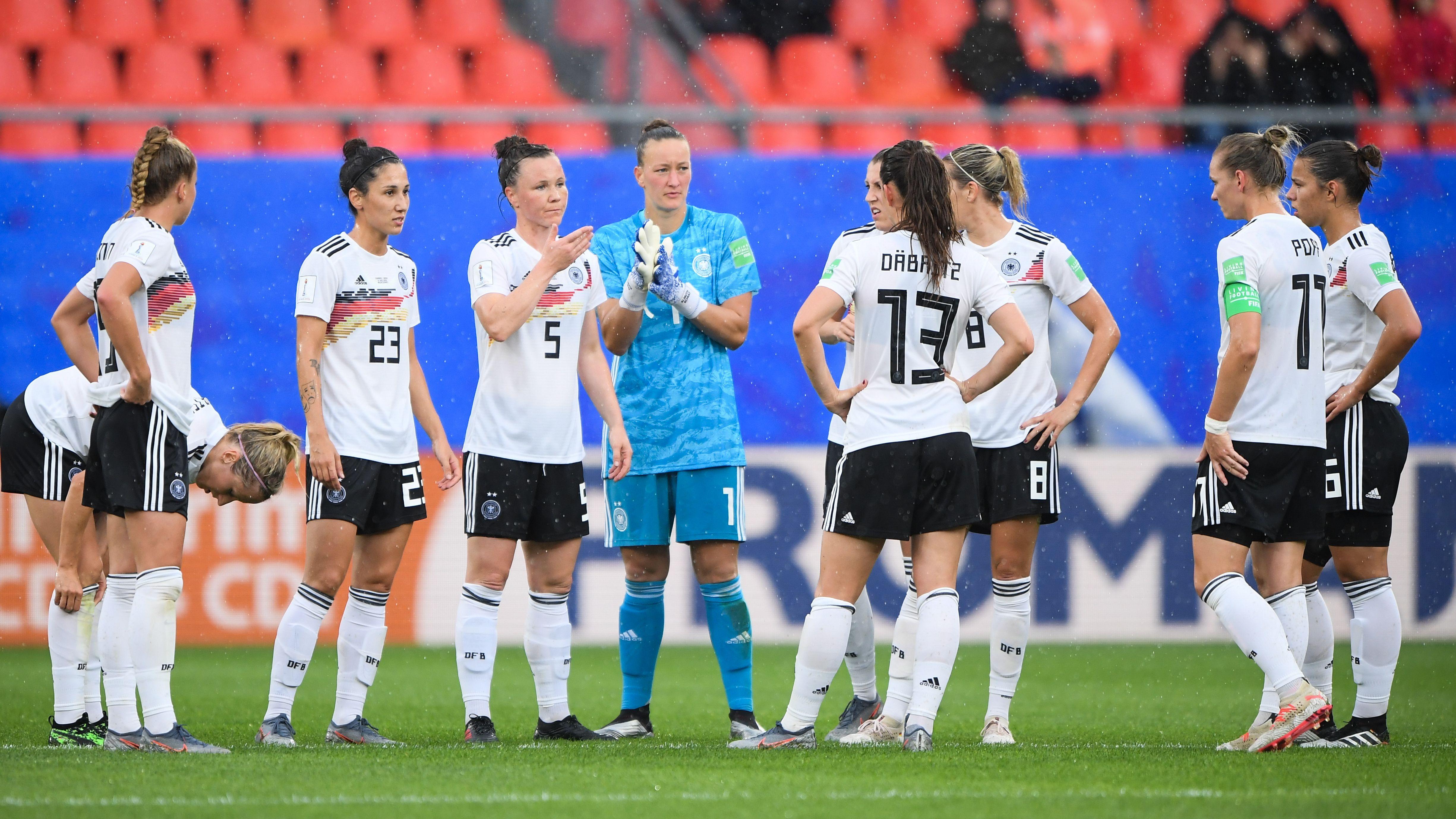 Deutsche Fußball-Nationalspielerinnen
