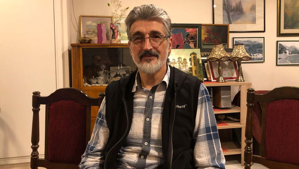 Wirtschaftsprofessor Petar Đukić