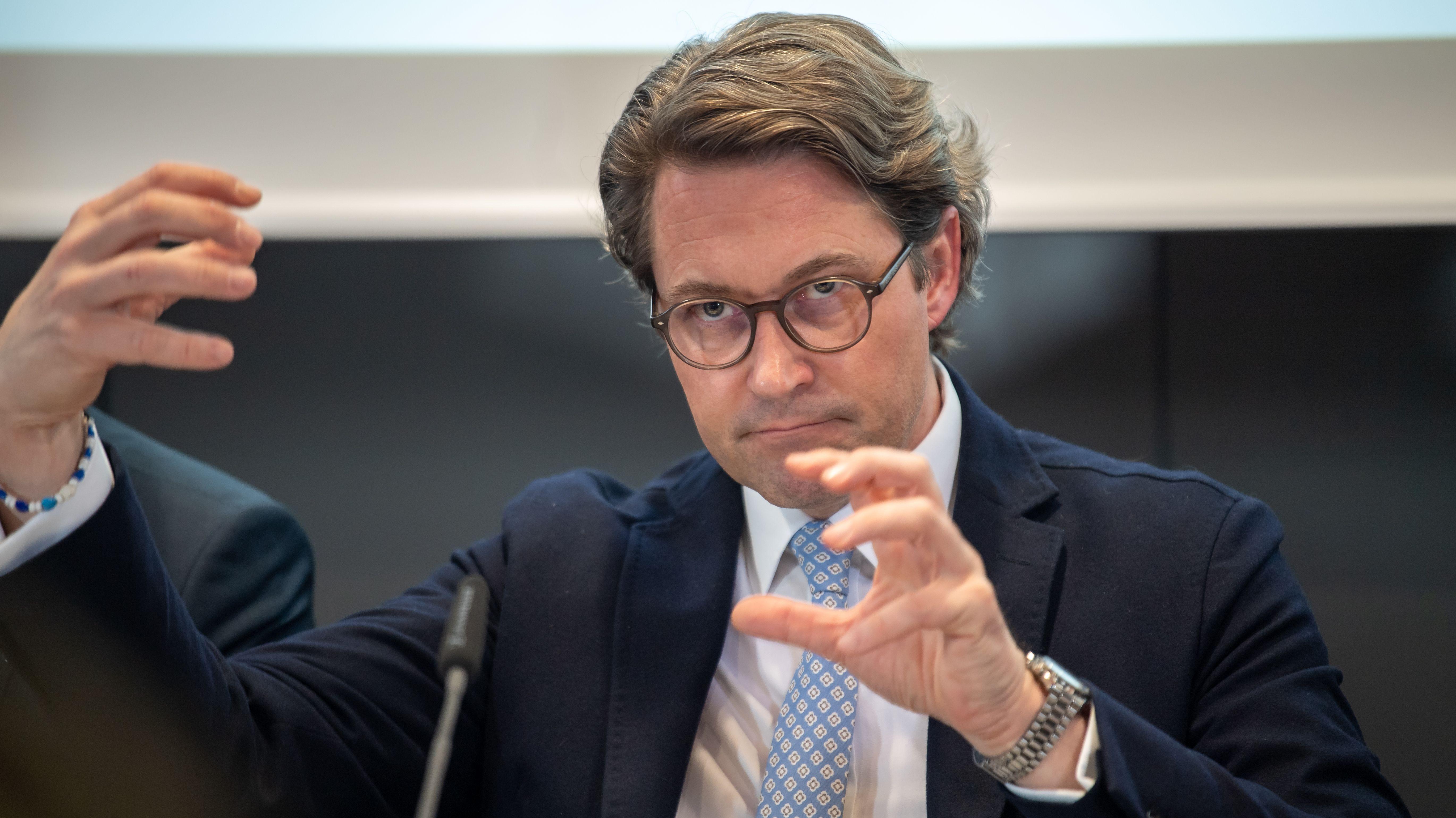 Andreas Scheuer, Bundesverkehrsminister