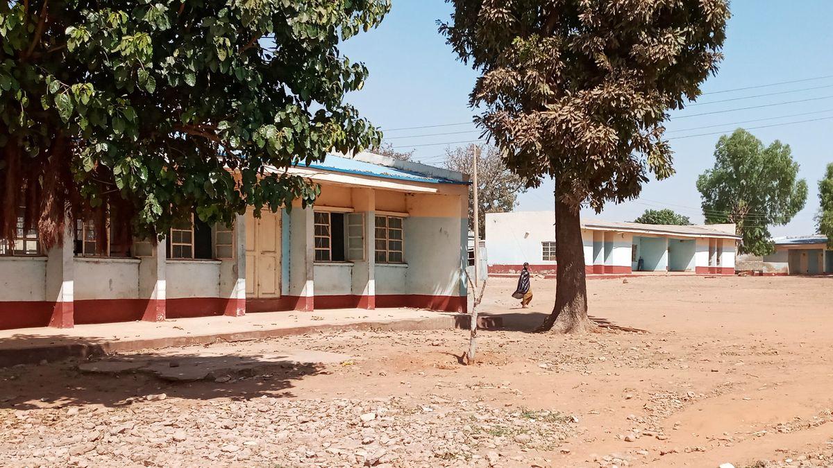 Eine Schule in Nigeria, an der mehrere Kinder entführt wurden.