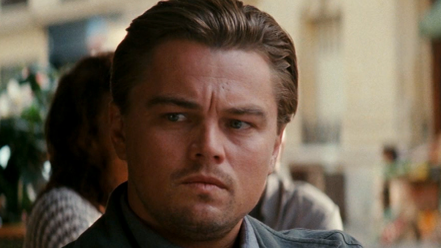 "Leonardo DiCaprio in ""Inception"" von 2010 (Filmszene)"