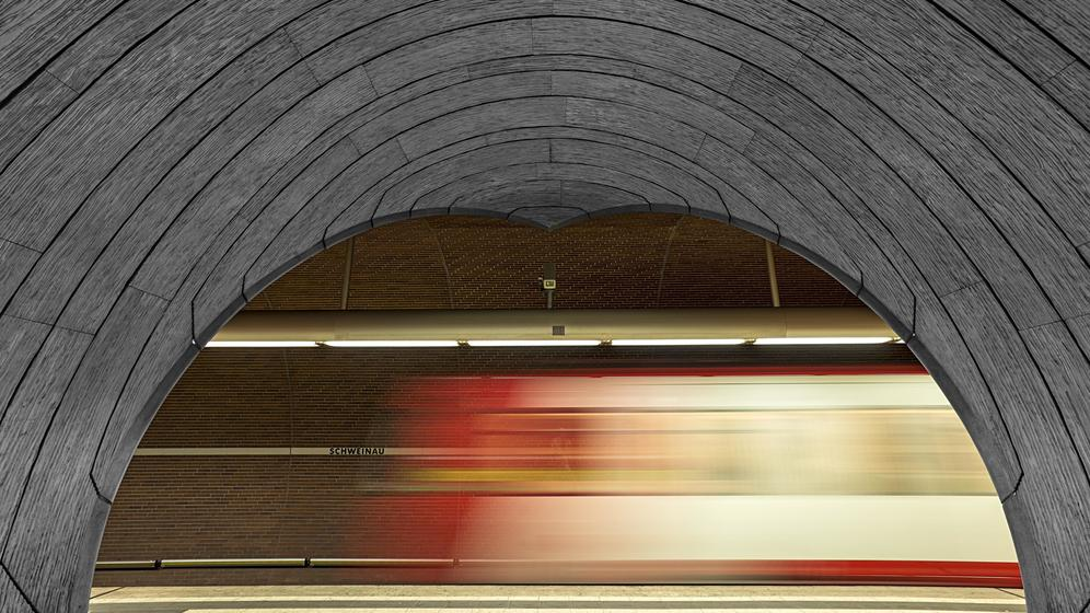 U-Bahn in Nürnberg | Bild:Helmut Meyer zur Capellen/picture alliance/imageBROKER