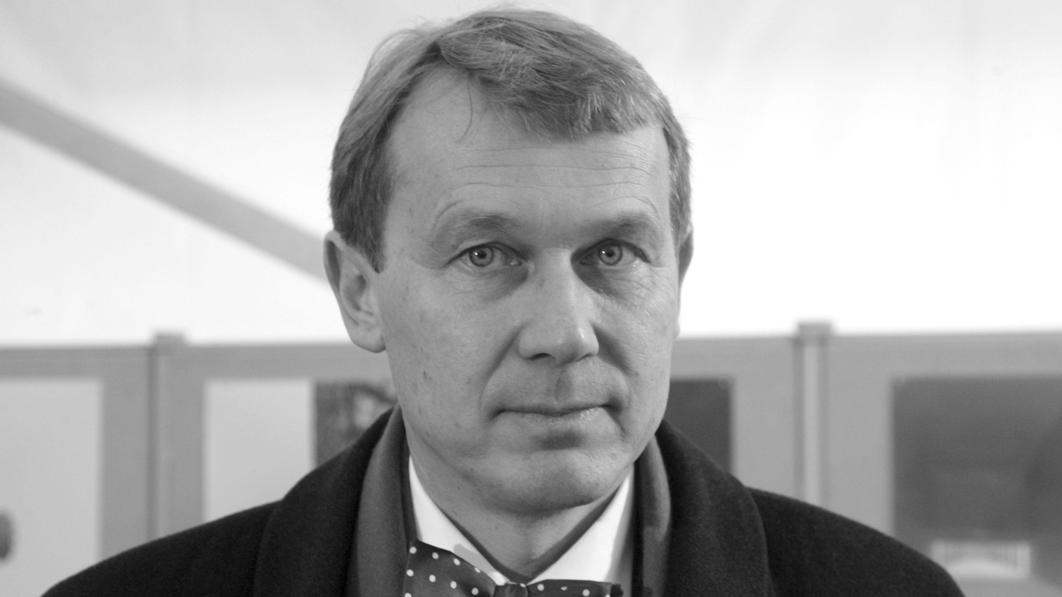 Der Architekt Andreas Meck ist gestorben