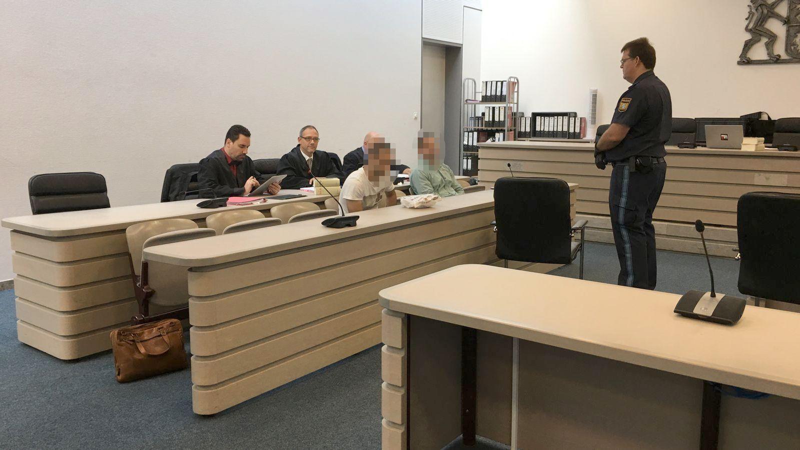 Prozessauftakt in Ingolstadt gegen Abschiebehäftlinge.