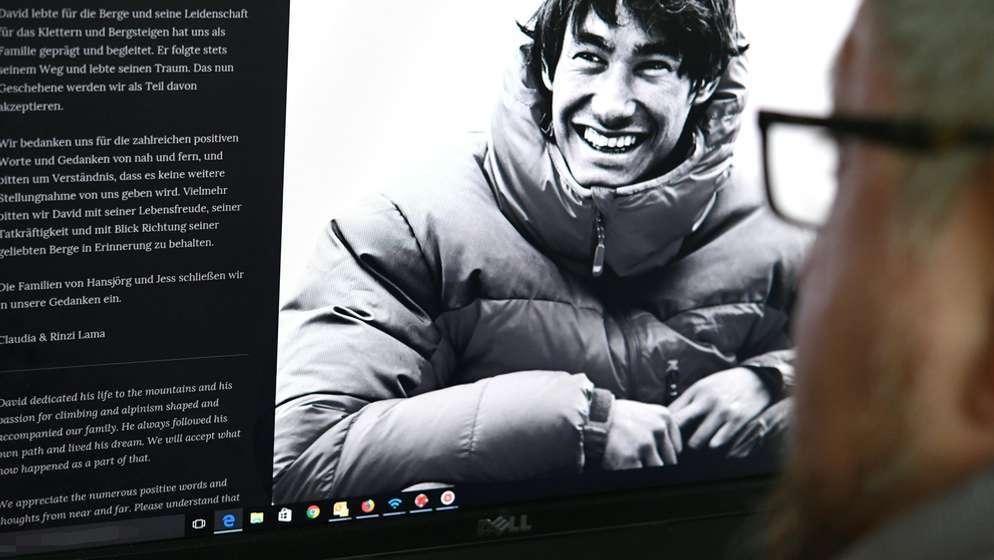 Verunglückter Extrembergsteiger David Lama | Bild:picture alliance / HELMUT FOHRINGER / APA / picturedesk.com