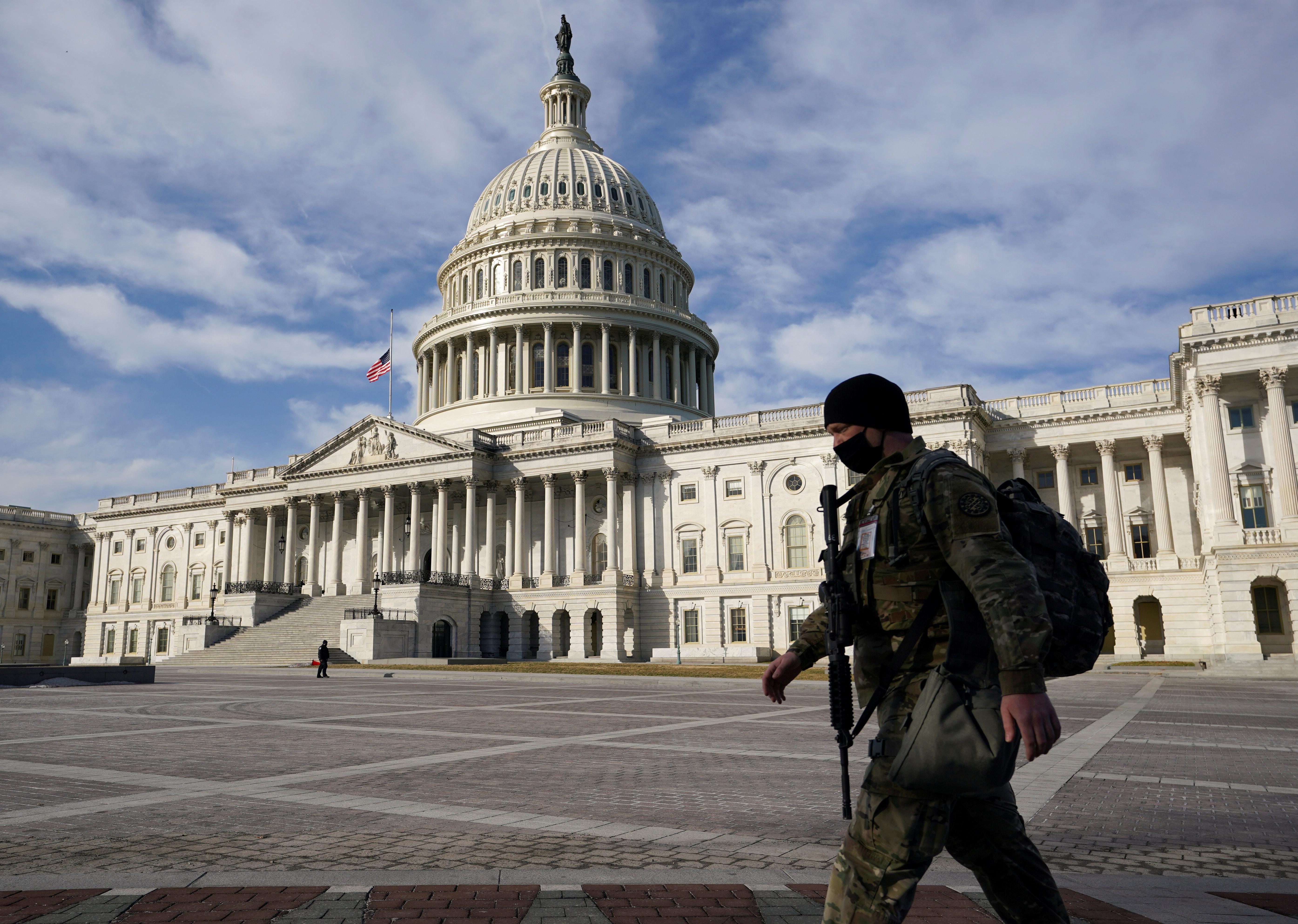 Pläne von Extremisten: US-Behörden warnen vor neuem Angriff auf das Kapitol