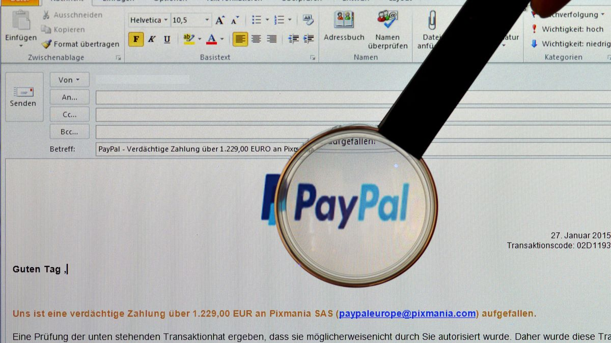 Neue Phishing-Attacke