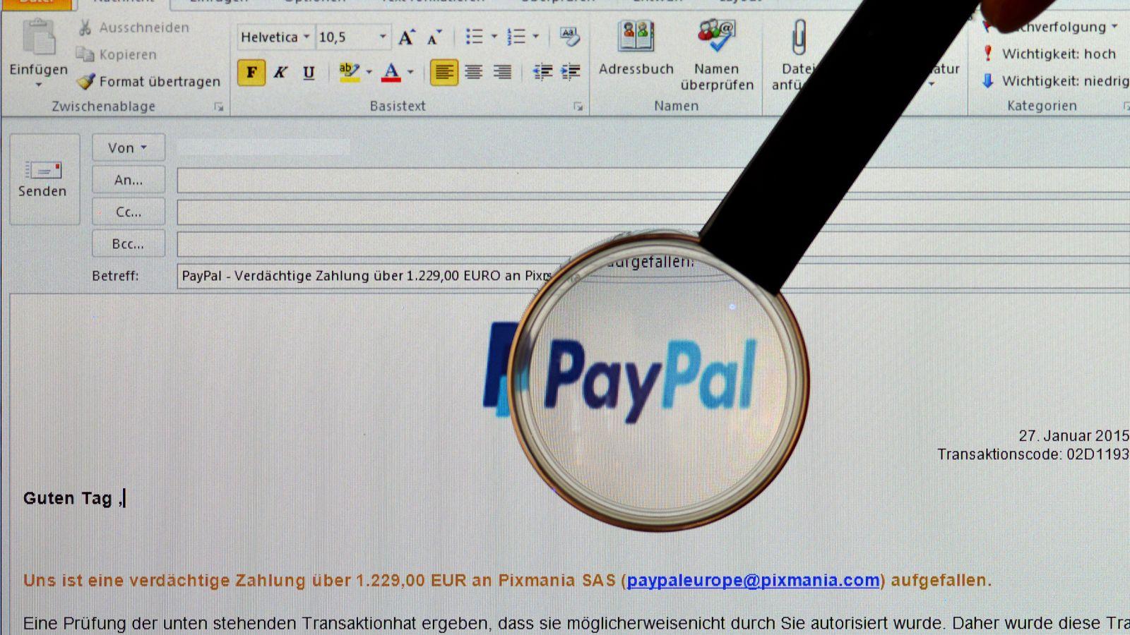 Betrüger Paypal