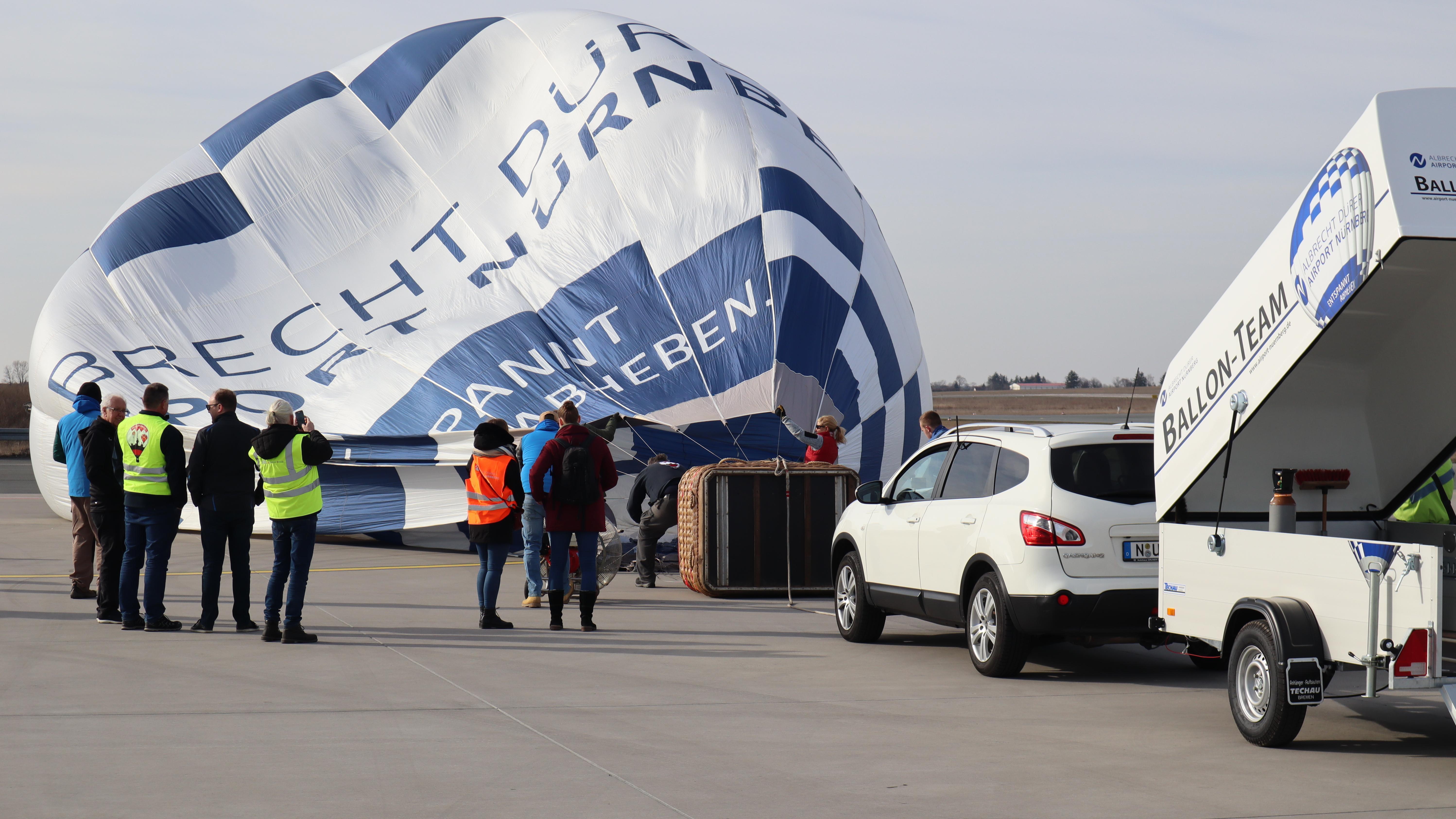 Frankenballoncup 2019 am Airport Nürnberg