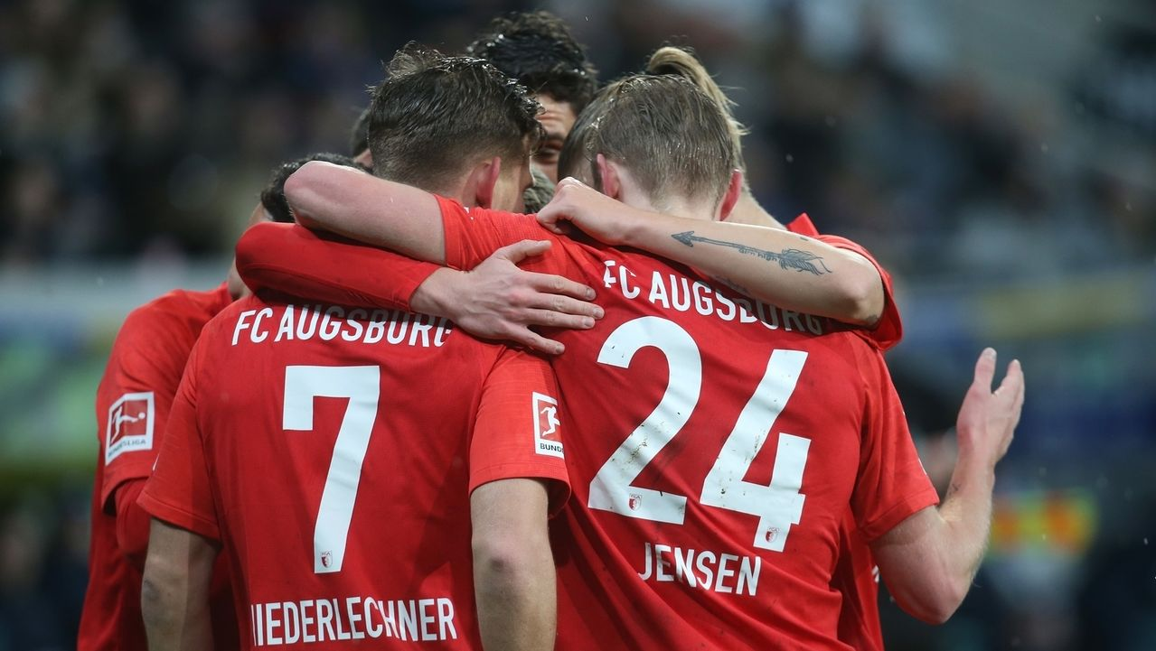 Jubel beim FC Augsburg