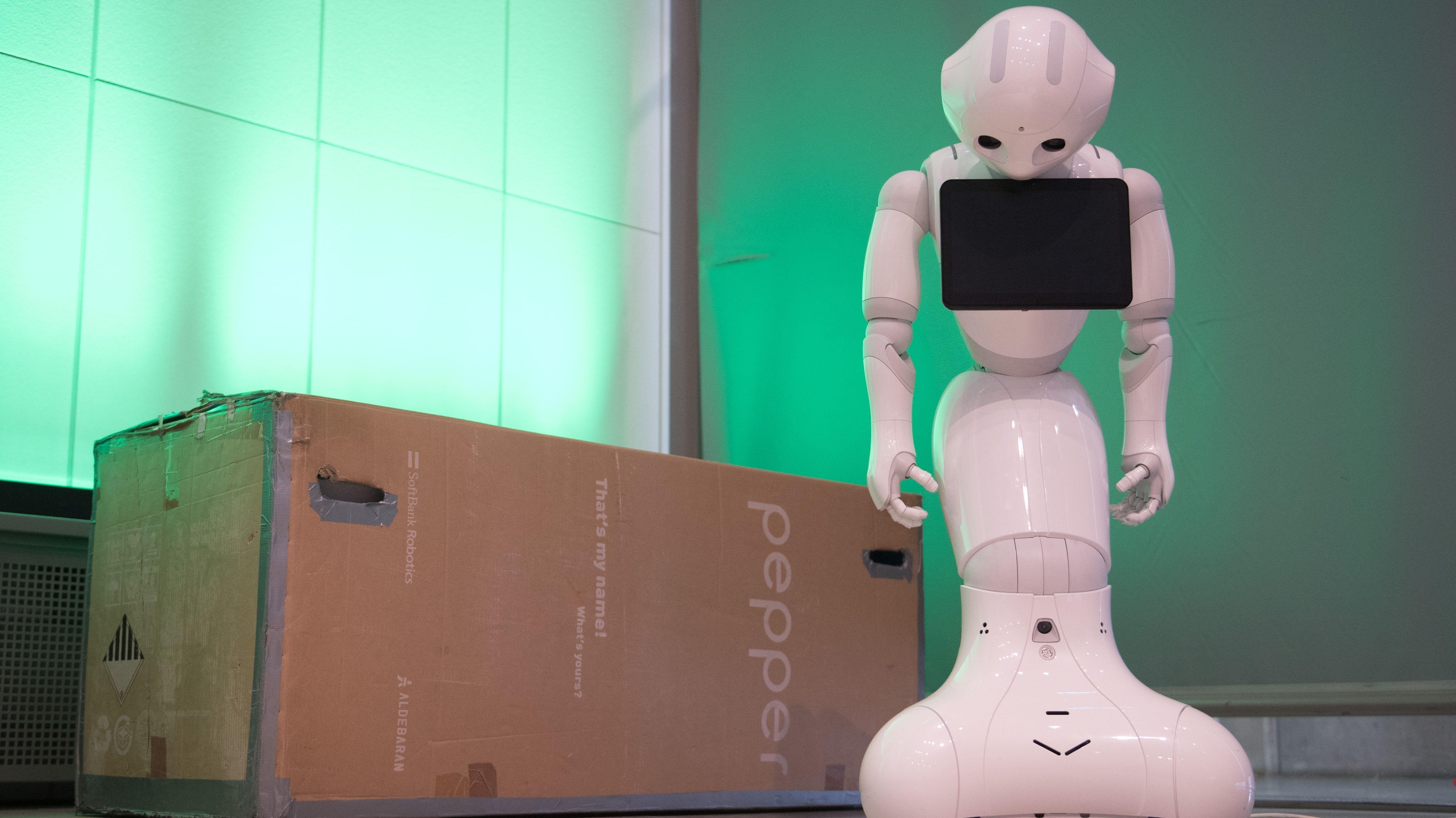 Der Roboter Pepper