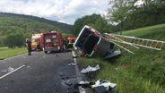 Tödlicher Verkehrsunfall zwischen Premich und Steinach   Bild:News5