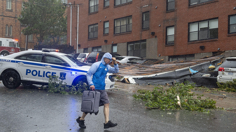 "Hurrikan ""Dorian"" trifft in Kanada auf Land, Halifax"