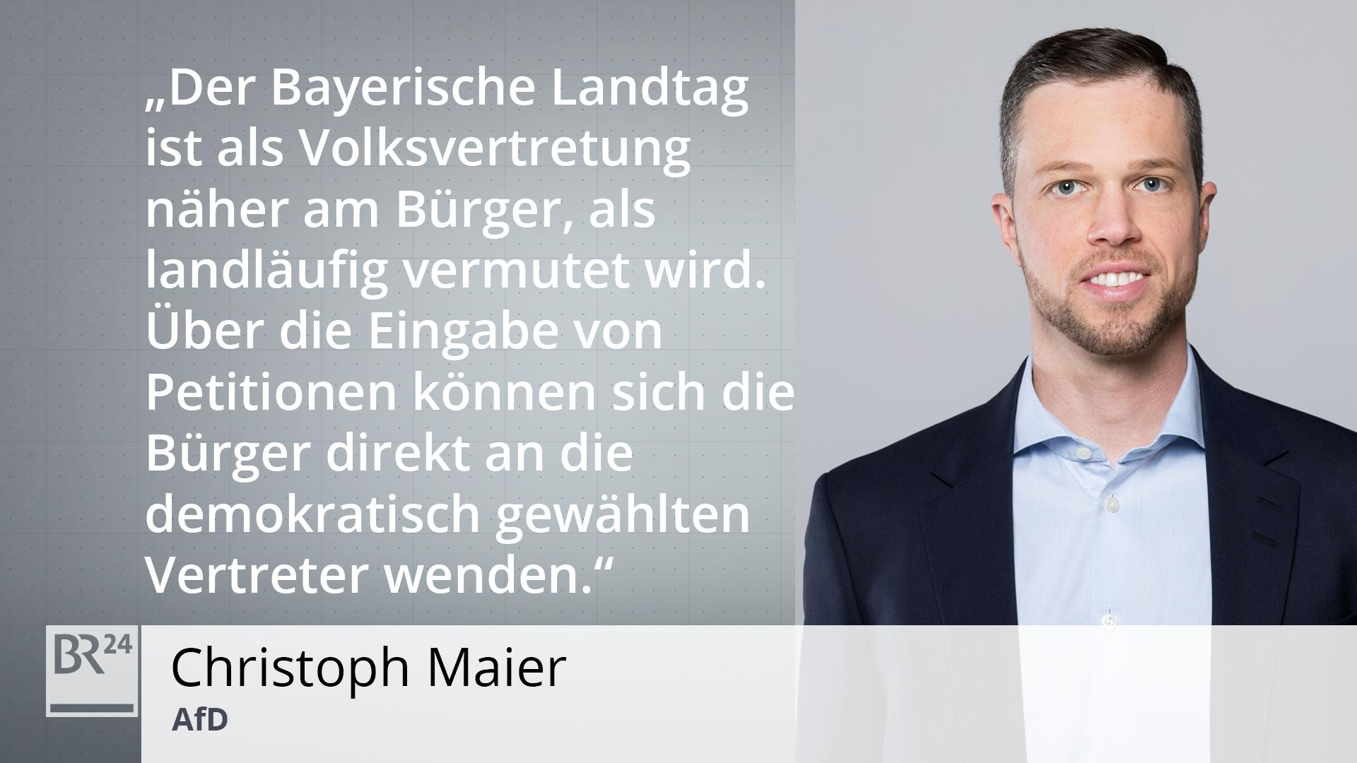 Portrait Christoph Maier