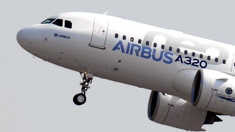 Airbus A320neo startet