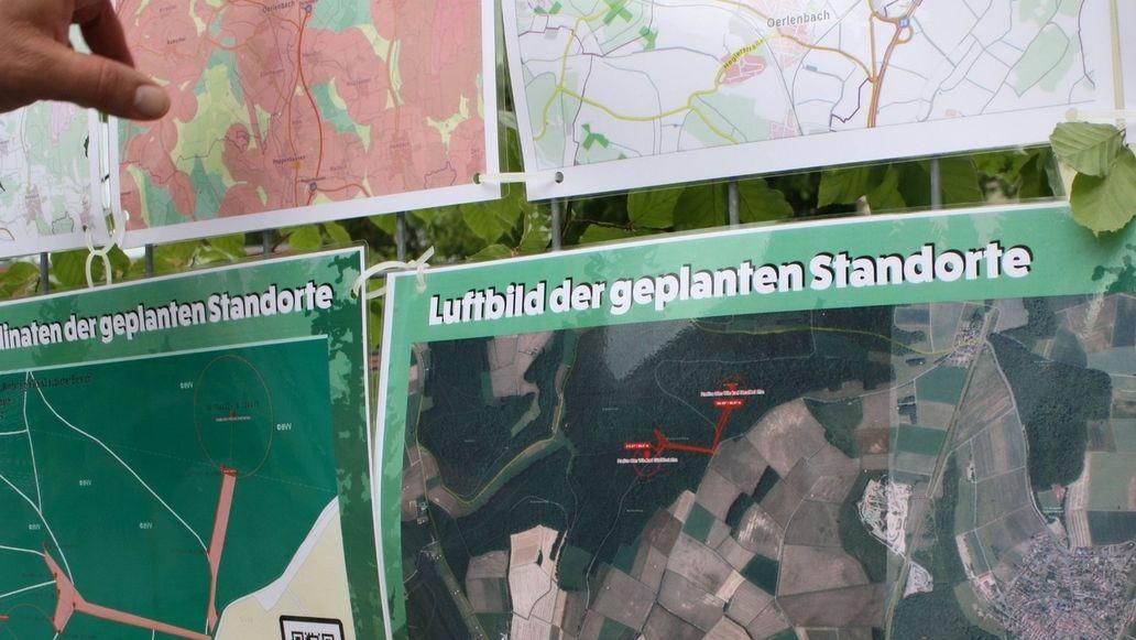 Info über geplante Windräder Eltingshausen