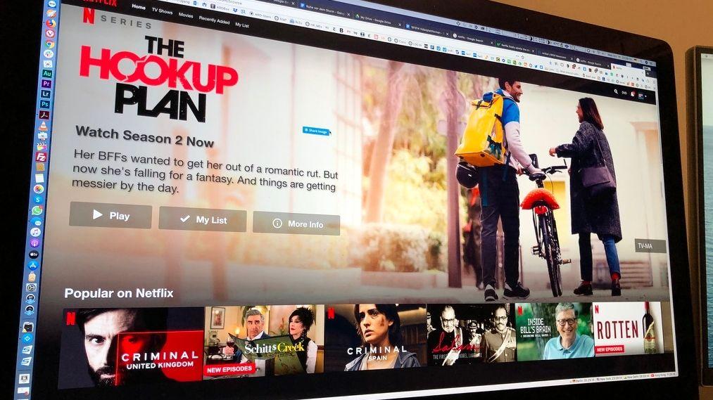 Netflix hat an seinem Firmensitz in Los Gatos im Silicon Valley seine jüngsten Quartalszahlen vorgestellt