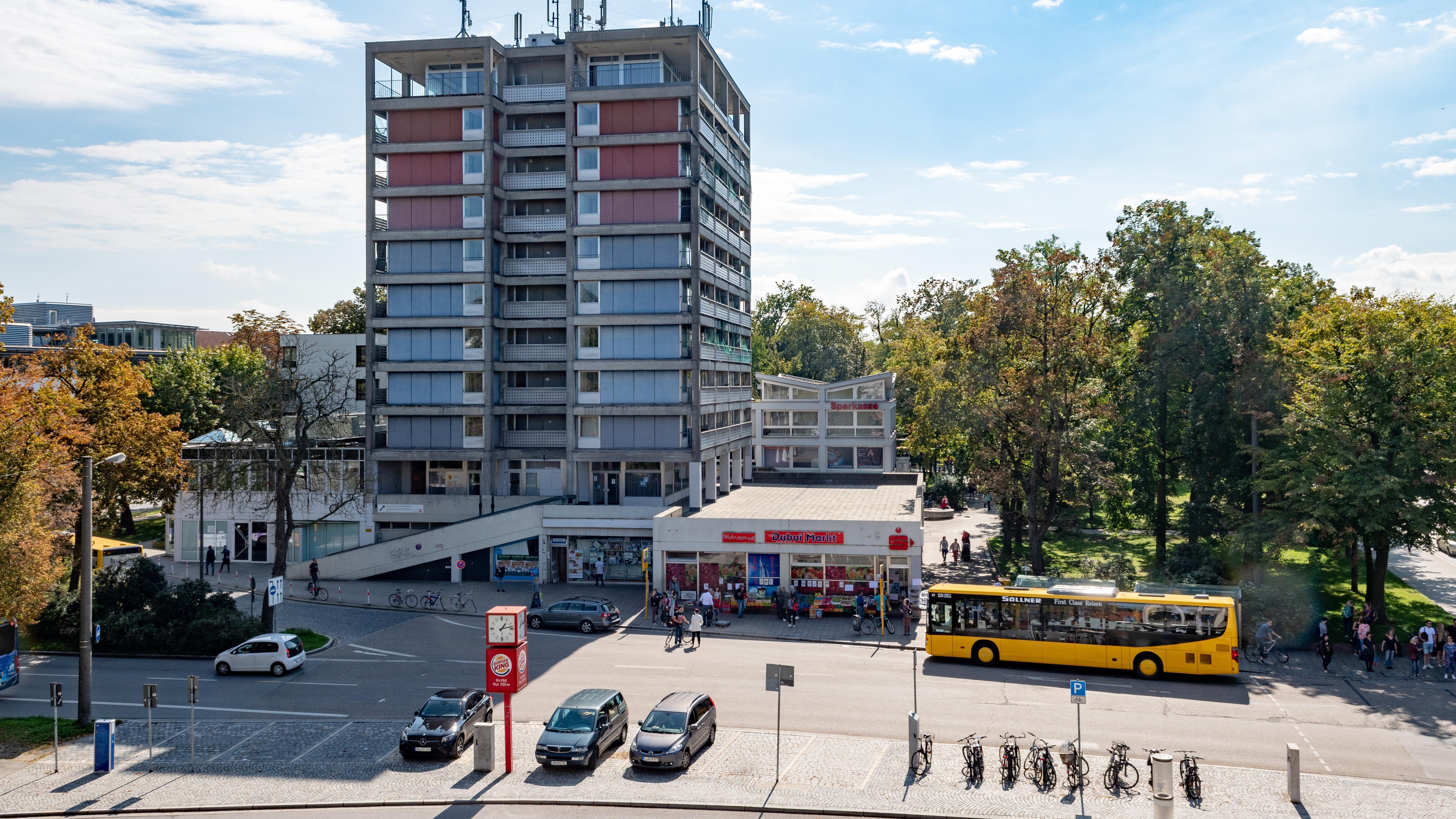 Das Kepler-Areal in der Regensburger Innenstadt nahe dem Hauptbahnhof. Hier soll der Omnibusbahnhof entstehen.