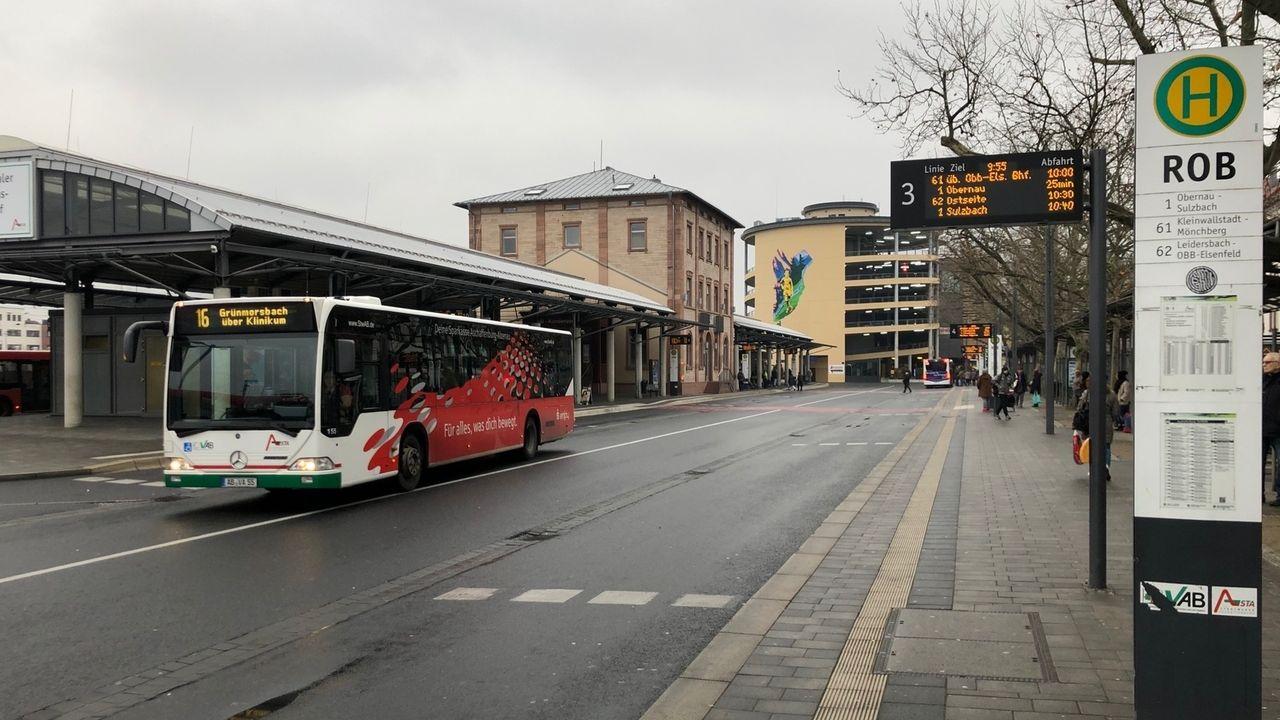 Aschaffenburg: Busse auf Bestellung an Sonntagen