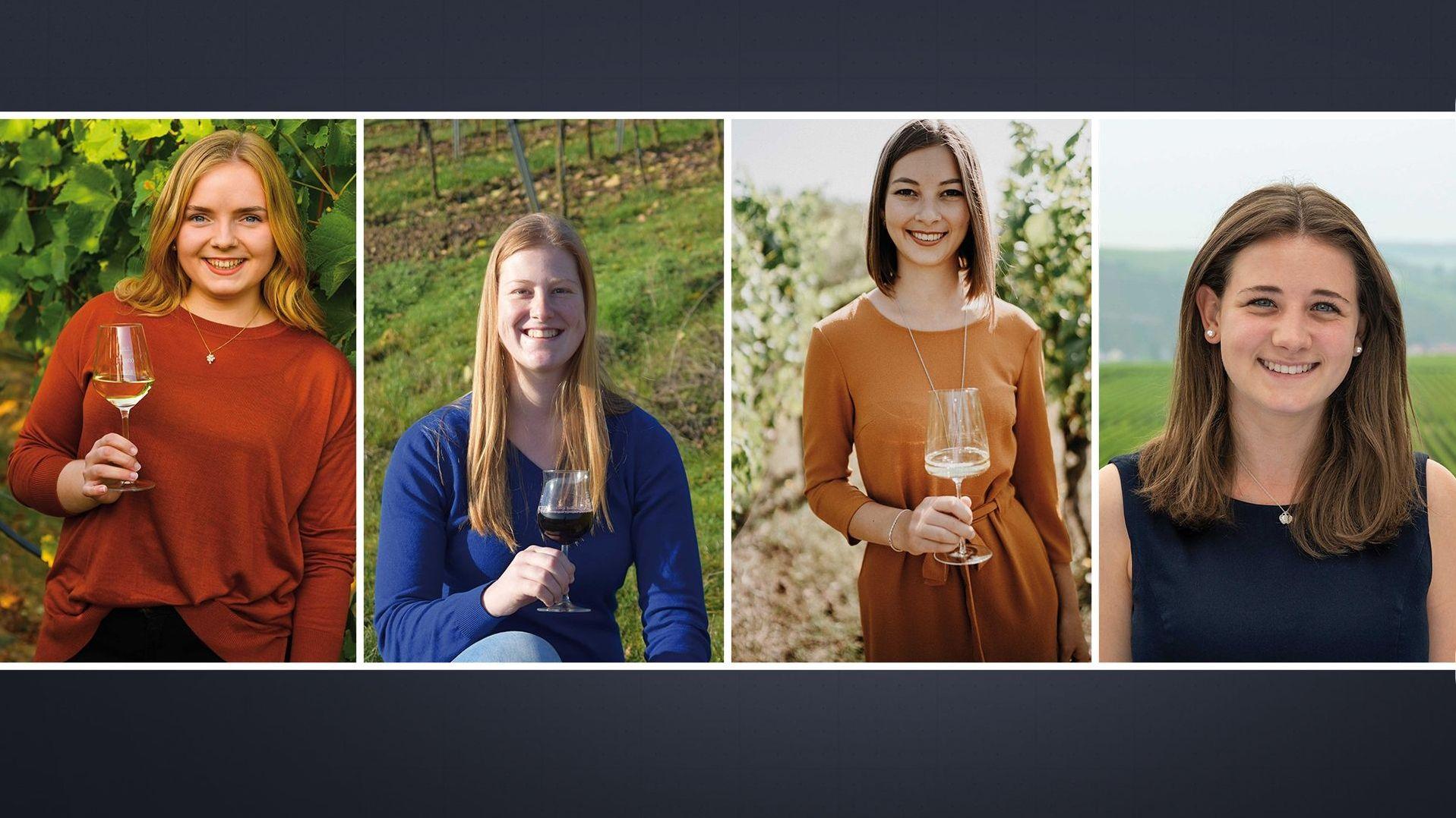 Vier junge Frauen wollen Fränkische Weinkönigin werden