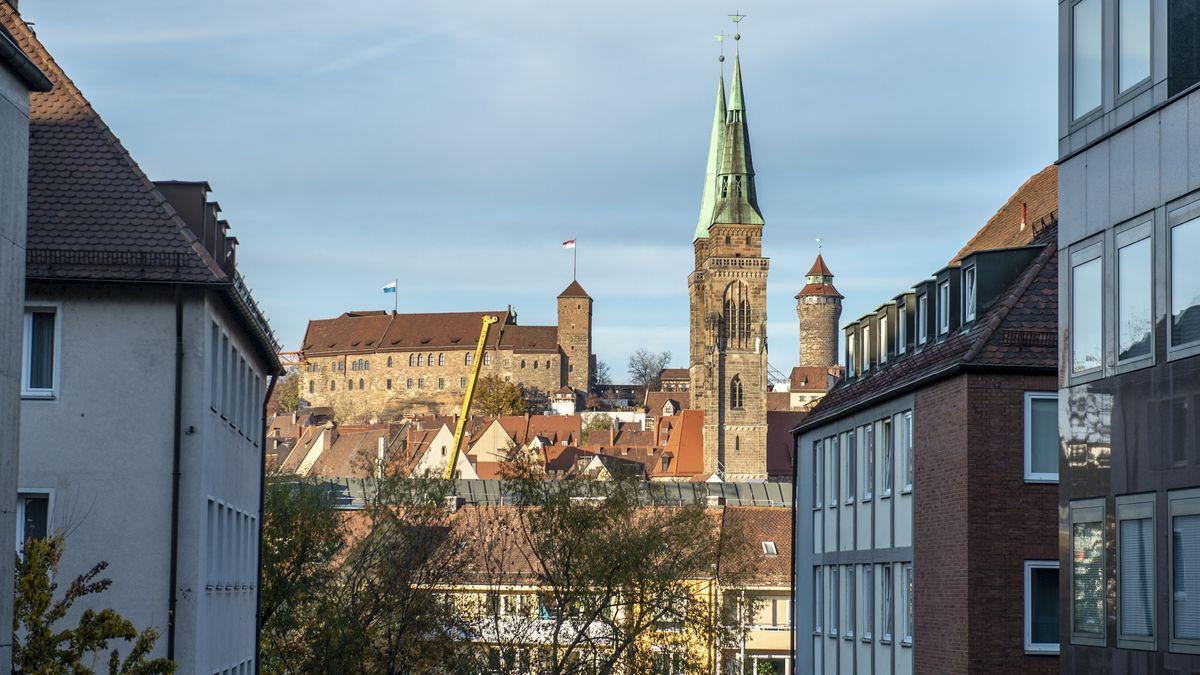 Stadtansicht Nürnberger Burg