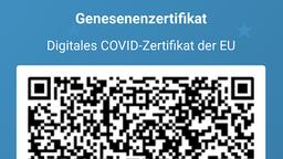 Auch von Corona Genesene können nun ihren Status in die App eintragen. | Bild:Screenshot: Corona-Warn-App