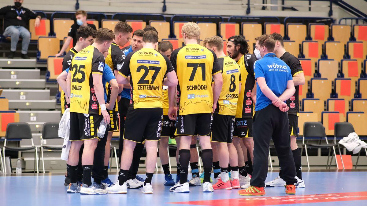 Die Mannschaft des HSC 2000 Coburg