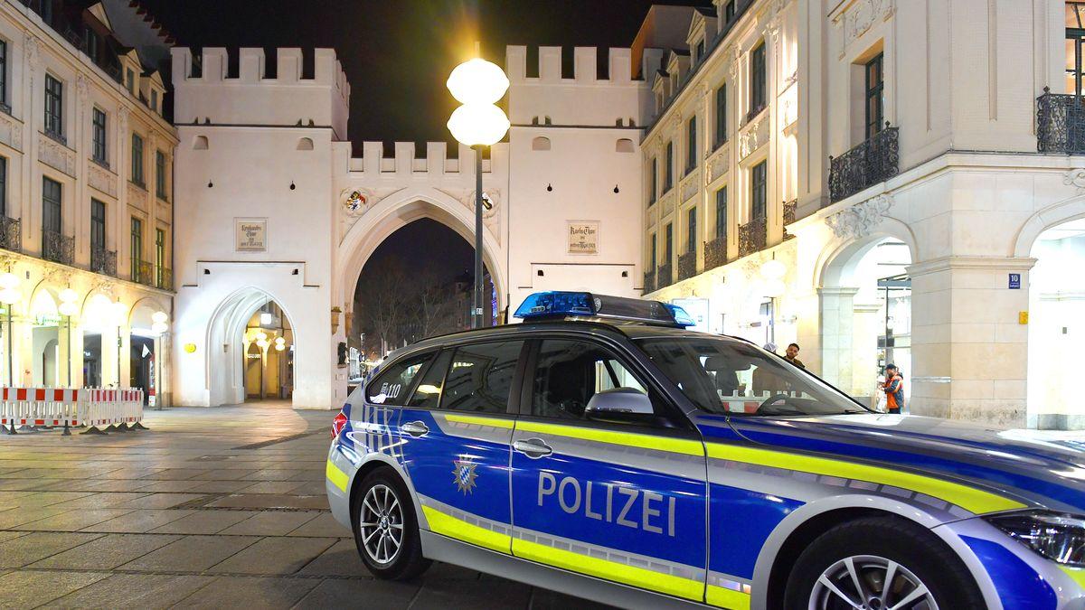 Polizei in der Münchner Innenstadt (Archivbild)