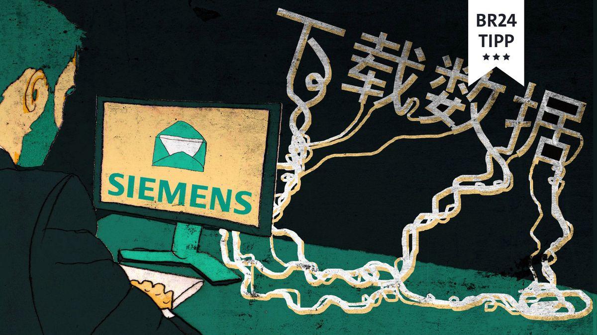 Symbolbild: Chinesischer Hackerangriff auf deutsche Unternehmen.