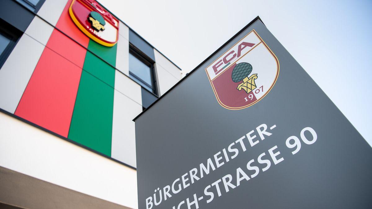 Die Geschäftsstelle des FC Augsburg.