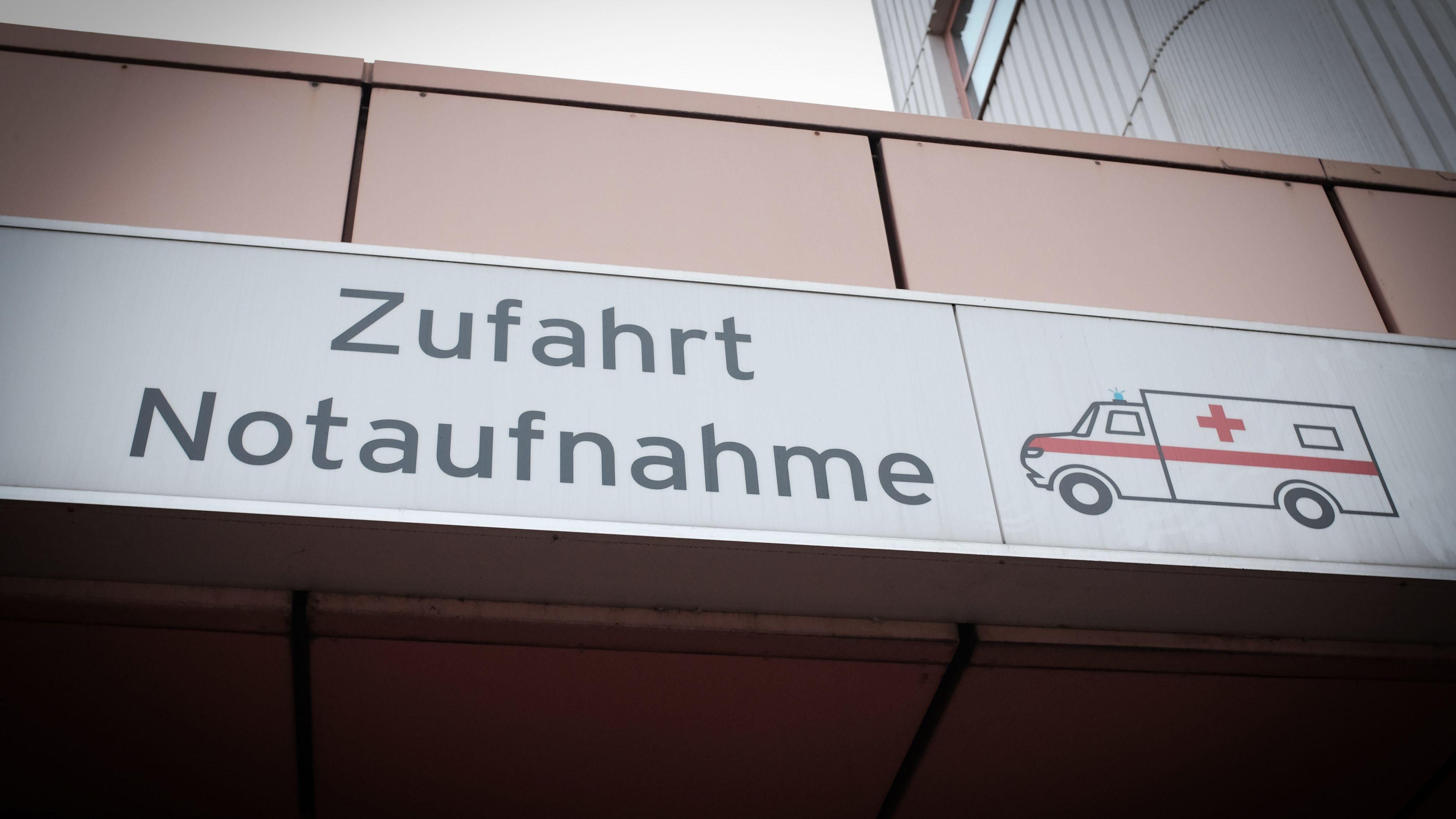 Symbolbild Notaufnahme: Eine Patientin wurde nicht im Krankenhaus Rotthalmünster behandelt, sondern in der Zufahrtshalle für Rettungswagen
