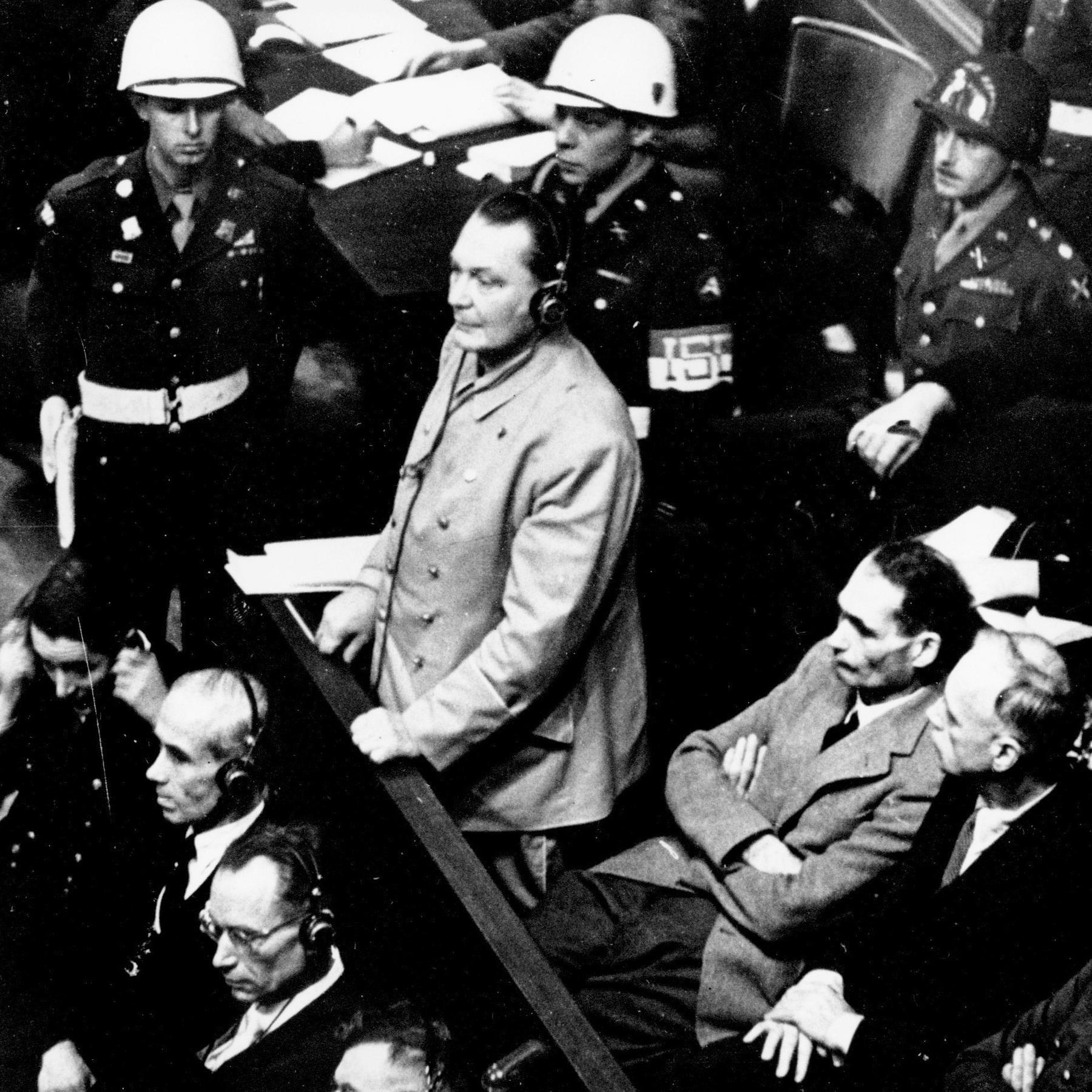 Die Nürnberger Prozesse - Nazi-Kriegsverbrecher vor Gericht