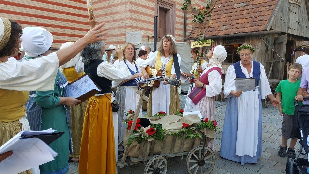 """Eindrücke vom Altstadtfest """"Friedberger Zeit"""""""