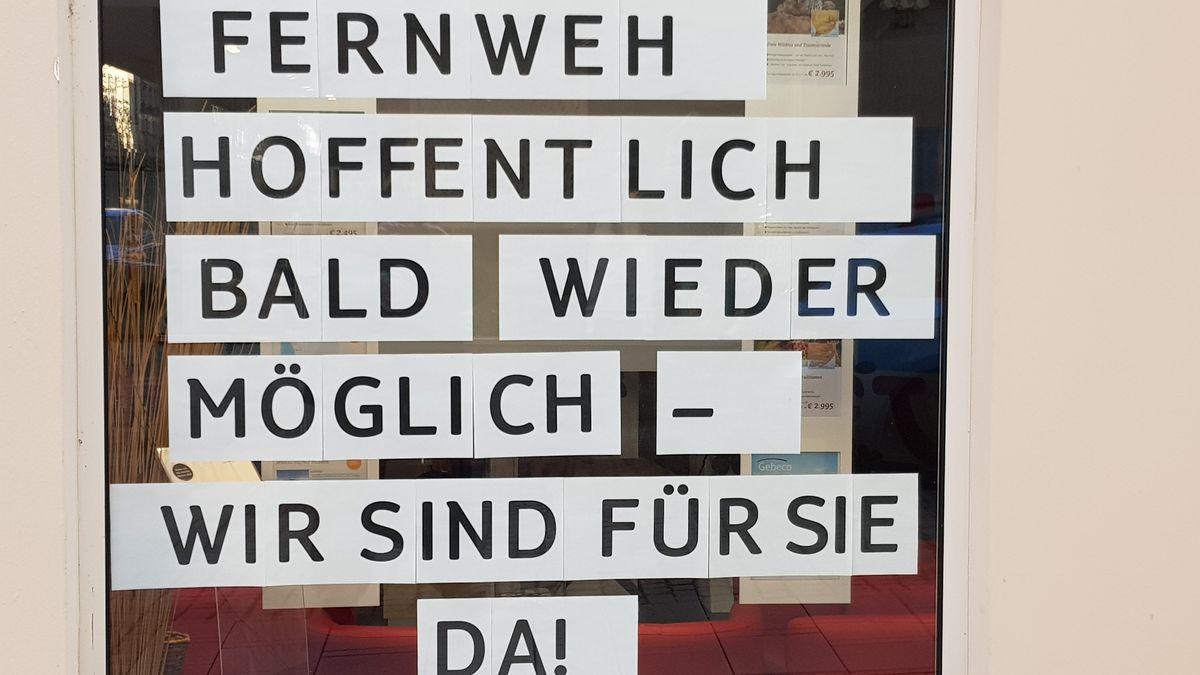 Ein Reisebüro in der Schweinfurter Innenstadt musste bereits schließen