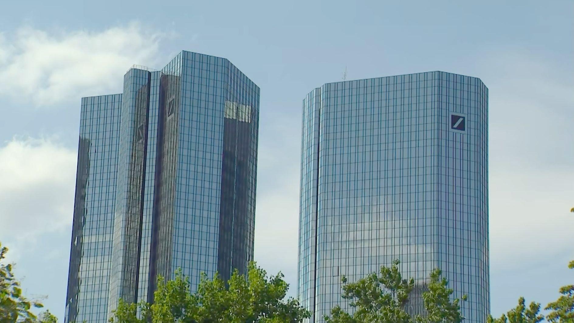 Bürotürme der Deutschen Bank
