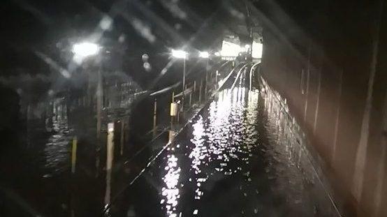 Wasserschaden im Münchner S-Bahn-Stammstrecken-Tunnel