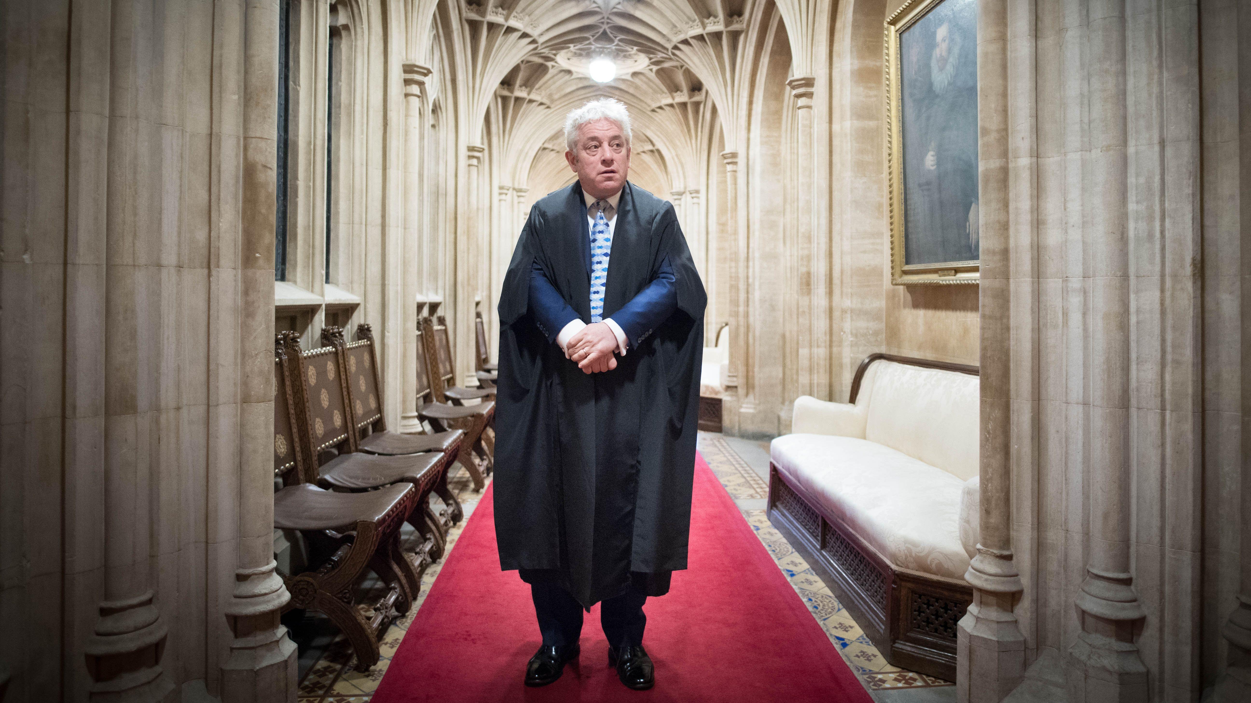 John Bercow, britischer Parlamentspräsident