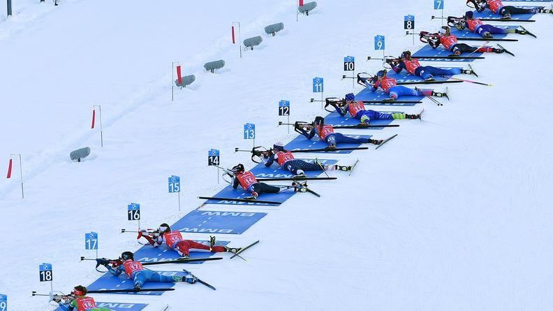 Symbolbild Biathlon