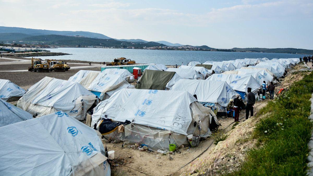 Flüchtlingslager Kara Tepe auf Lesbos