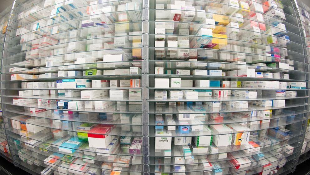 Arzneimittel   Bild:dpa-Bildfunk/Daniel Reinhardt