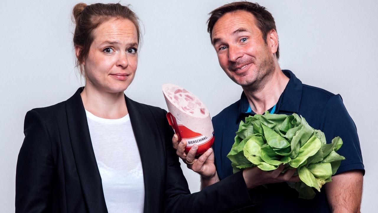 """Martin und Nathalie tauschen die Rollen. Er wird zum Veganer, sie zur """"Fleischfresserin"""""""