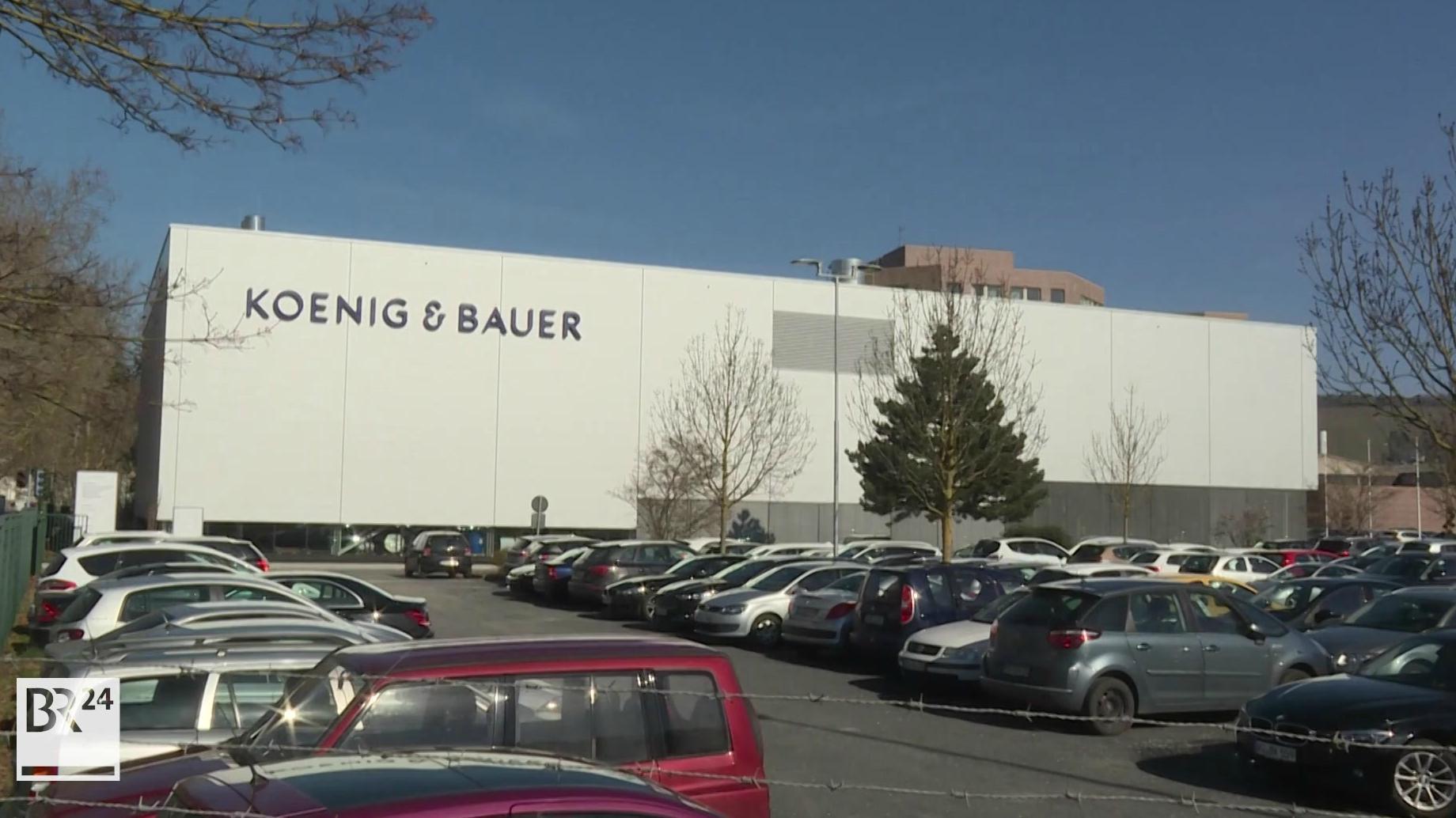 """""""Koenig & Bauer"""" in Würzburg"""