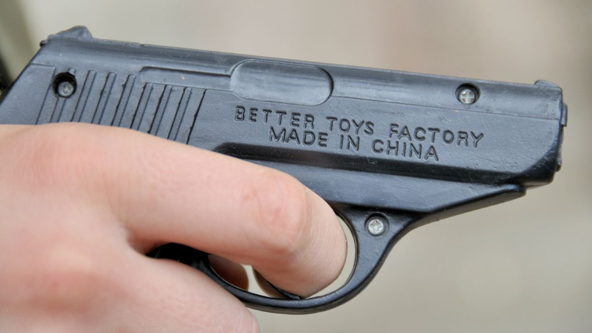 Spielzeugpistole (Symbolbild).