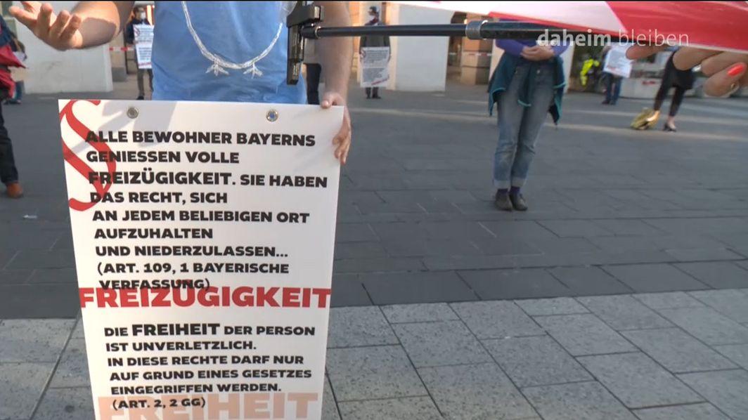 """""""Gesundheit und Grundrechte schützen"""""""