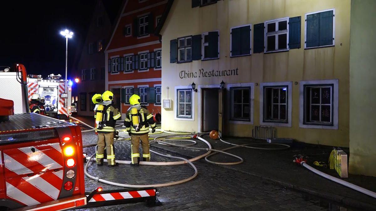 Feuerwehr-Einsatz in Dinkelsbühl