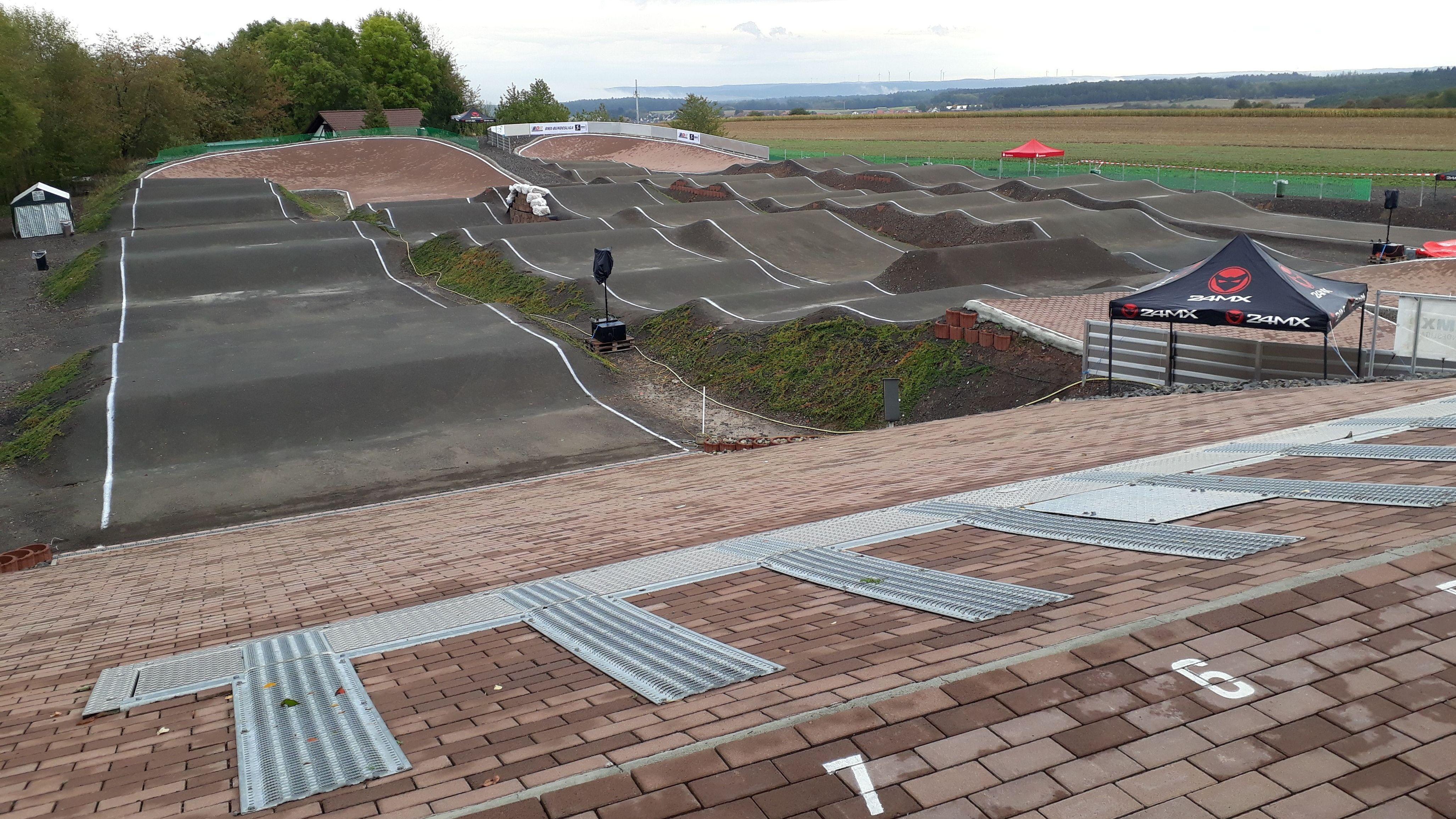 BMX-Strecke in Esselbach